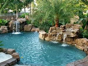 Piscine Avec Cascade : 1001 mod les spectaculaires de piscine avec cascade ~ Premium-room.com Idées de Décoration