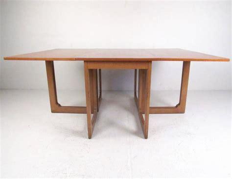 danish modern drop leaf table danish modern drop leaf teak dining table for sale at 1stdibs