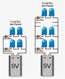 Cara Merakit Led Dengan Tegangan 9 Volt