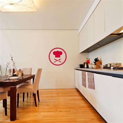 toque cuisine sticker cuisine toque et couverts stickers cuisine ustensiles ambiance sticker