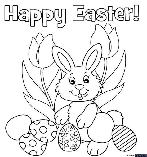 Easter Color Pages Printable by The Will These Free Printable Easter Bunny