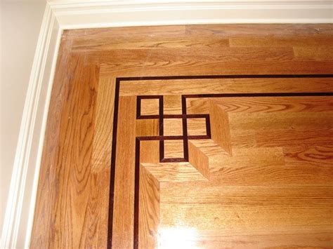 Flur Dekorativ Gestalten by Wood Floor Border Floors Woods Flooring