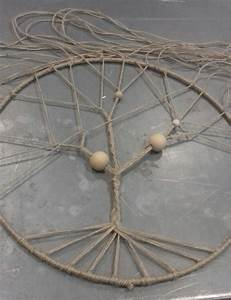 Tuto Attrape Reve Arbre De Vie : super atelier attrape r ve arbre de vie merci laura ~ Voncanada.com Idées de Décoration