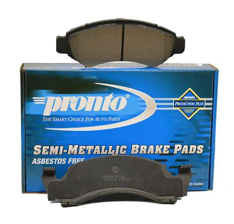 pronto semi metallic brake pads
