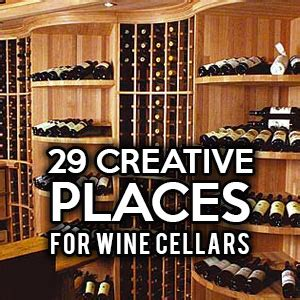 creative kitchen backsplash 29 creative places for wine cellars and racks in your home