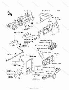 Kawasaki Side By Side 2012 Oem Parts Diagram For Labels
