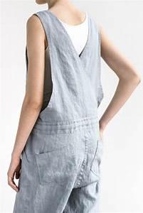Not Perfect Linen : not perfect linen loose linen jumpsuit washed silver uk8 hafen ~ Buech-reservation.com Haus und Dekorationen