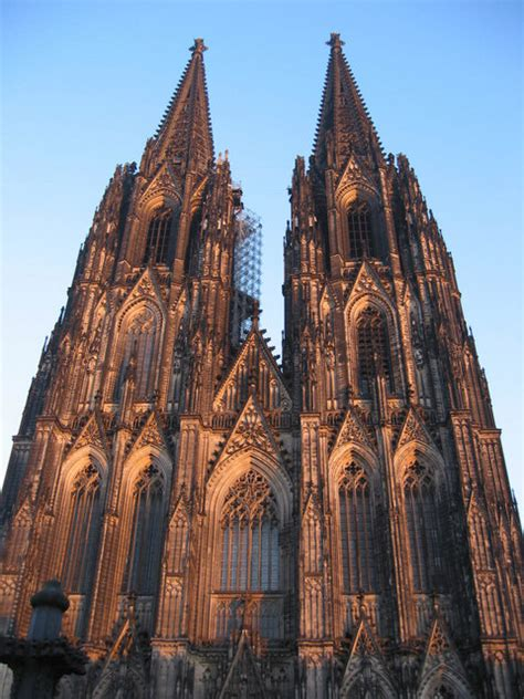 The Front Of Koln Kathedrale Mgrs Ulb Geograph