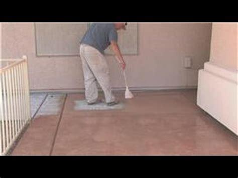 Decorative Concrete Techniques : How to Color Concrete