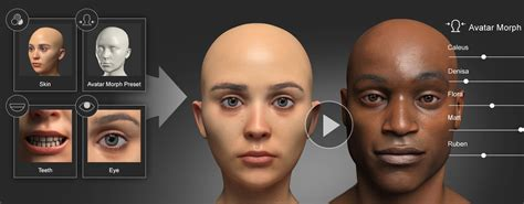 scan series virtual human virtual human