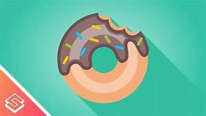 Inkscape Tutorial  Vector Donut