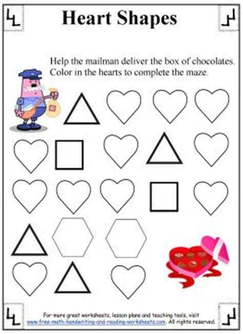 All Worksheets » Heart Worksheets  Printable Worksheets Guide For Children And Parents