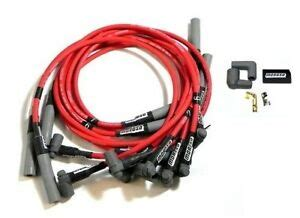 Big Block Chevy Bbc Red Spark Plug Wires Over Valve