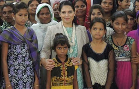 Priti Patel hails strategic partnership between the UK and ...