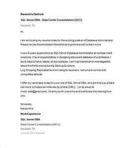 database administrator resume template 15 free samples With how to get free resume database