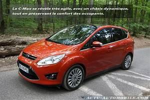 Essai Ford C Max : essai ford c max 1 6 tdci 115 titanium plus dynamique ~ Medecine-chirurgie-esthetiques.com Avis de Voitures