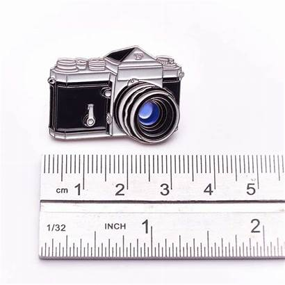 Nikon 35mm Camera Lapel Enamel Badge Film