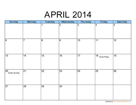 free calendar templates free calendar template 2014 sanjonmotel