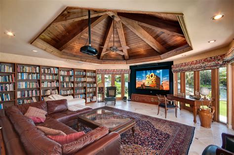lavish design ideas  home library   world