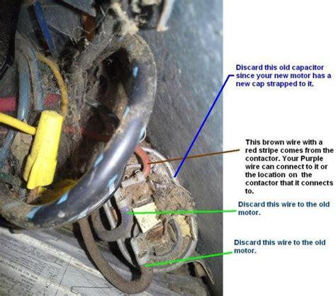 trane xe  condenser fan motor wiring
