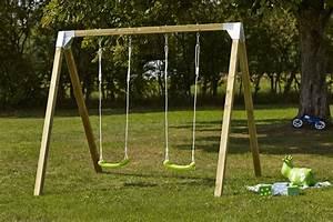 Ancrage Poteau Bois : kit portique balancoire connecteurs crochet pour ~ Edinachiropracticcenter.com Idées de Décoration