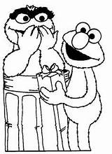 Elmo Coloring Potty Training Boys sketch template