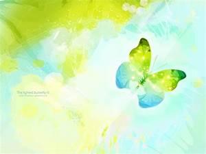 The Lights Butterflies PPT Backgrounds, The Lights ...