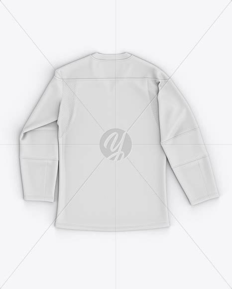 More often than not, men choose their apparel that which enhances masculinity. Download Men's Lace Neck Hockey Jersey Mockup - Back Top ...