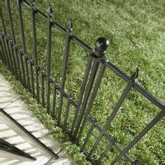 dig      black powder coated steel fence panel