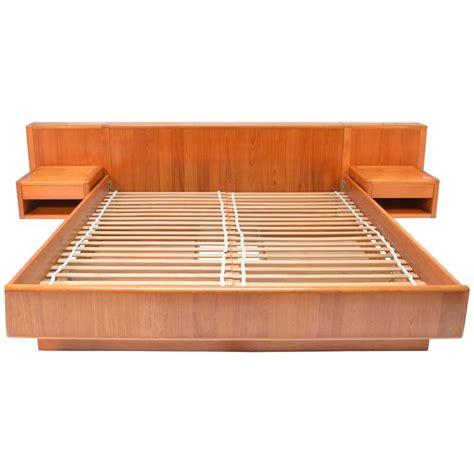 california king platform bed nordisk andels eksport modern teak california king