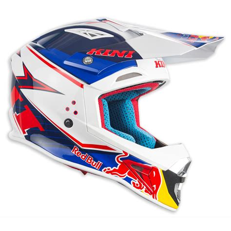 red motocross helmet kini red bull helmet competition navy white 2017 maciag
