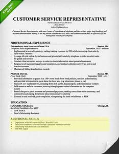 How to write a resume skills section resume genius for Customer service resume skills list