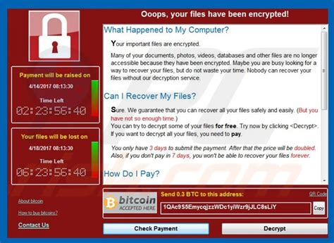 The bitcoin@email.tg.ncov ransomware encrypts the personal documents found on the victim's computer, then displays a message which offers to decrypt the data if payment in bitcoin is made. Ransomware | eSolutions