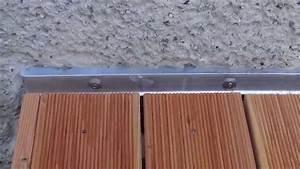 Sonnenrollo Für Terrasse : winkelbleche feuchteschutz f r eine terrasse aus holz youtube ~ Frokenaadalensverden.com Haus und Dekorationen
