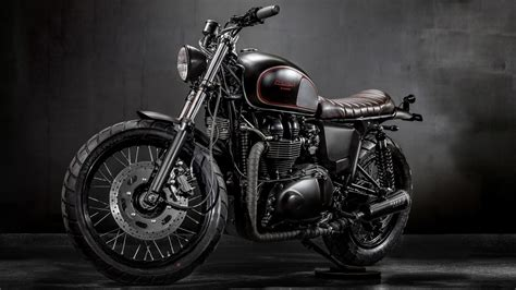 Triumph Bonneville Motorcycle Wallpaper