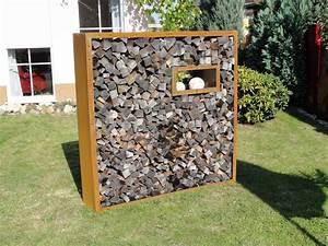 Kaminholzregal Außen Metall : kaminholzregale aus metall f r den au enbereich langlebig u sch n ~ Frokenaadalensverden.com Haus und Dekorationen