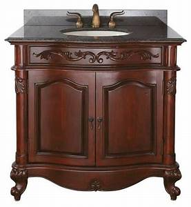 avanity provence vanity 36 inch antique cherry With avanity provence bathroom vanity
