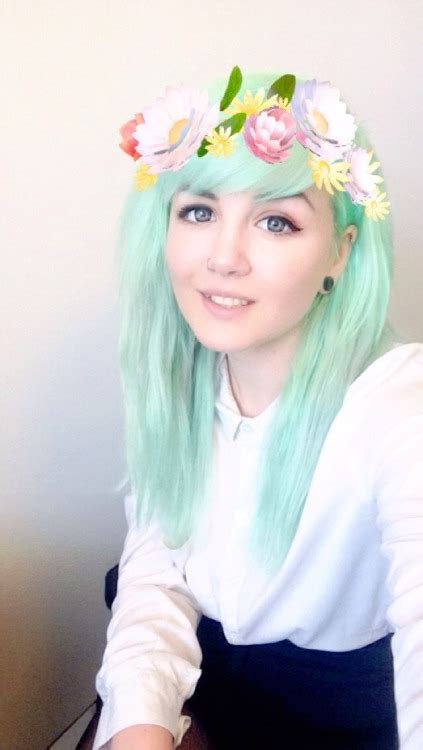 Pastel Green Hair On Tumblr