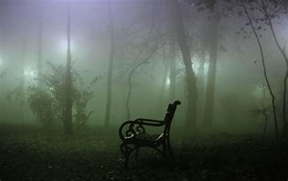 Fog Wallpapers Misty Desktop Spooky Park Mystical