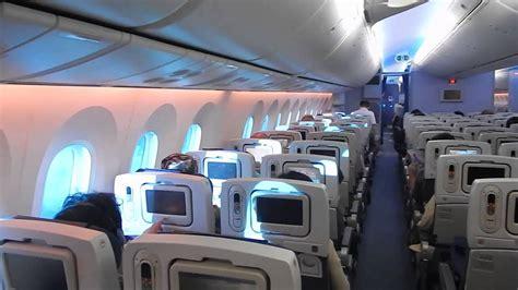 dreamliner cabin beautiful economy cabin on the 787 hanoi to tokyo