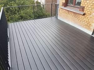 Wpc Dielen Auf Balkon Verlegen : balkon terrasse aus wpc baumpflege rinke kura ~ Michelbontemps.com Haus und Dekorationen