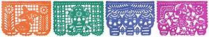 Day of the Dead Paper Medium Banner Featured in Pixar's