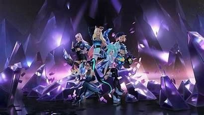 Kda League Seraphine Legends 4k Ahri 8k