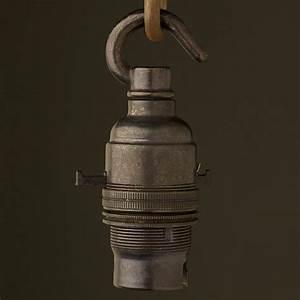 Bronze switched lampholder bayonet b fitting