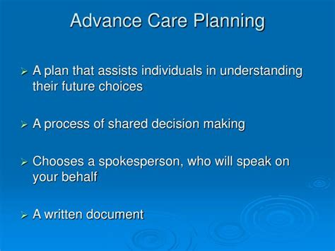 Ppt  Sharing Your Wishes ™ … Give Them Peace Of Mind
