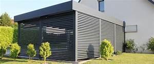 Un concept de carport et d'abri en aluminium