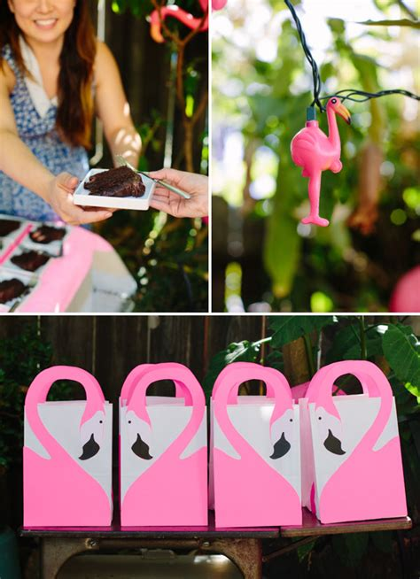 pink flamingo baby shower