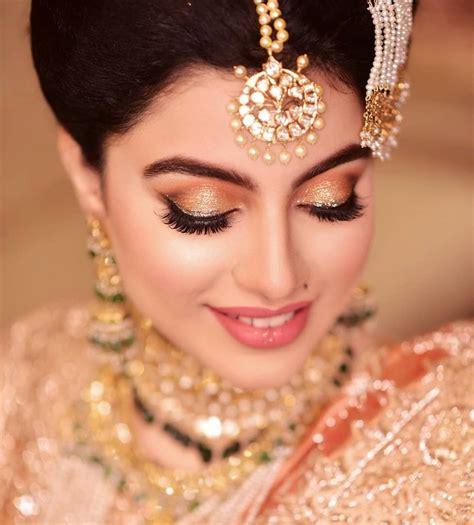 bridal makeup   rocked   indian wedding
