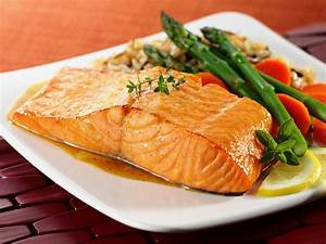 Image Gallery salmon entree