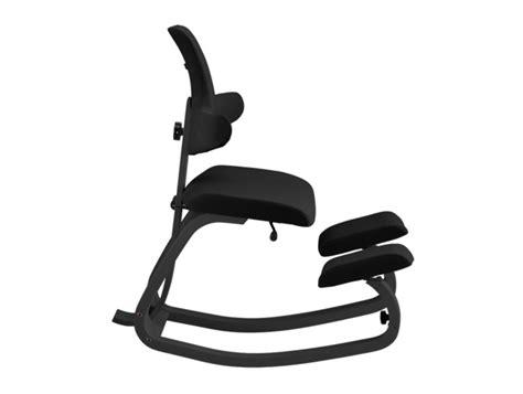 used ergonomic kneeling office chair varier thatsit balans kneeling chair